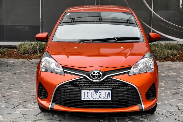 2016 Toyota Yaris Ascent NCP130R Orange