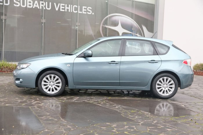2010 Subaru Impreza RX G3 MY10 Four Wheel Drive Grey