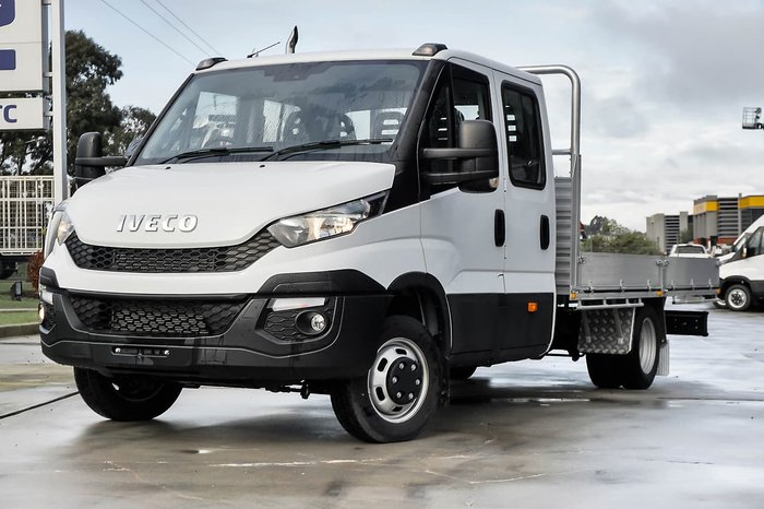 2017 IVECO DAILY 50C21 DUAL CAB EX DEMONSTRATOR null null White