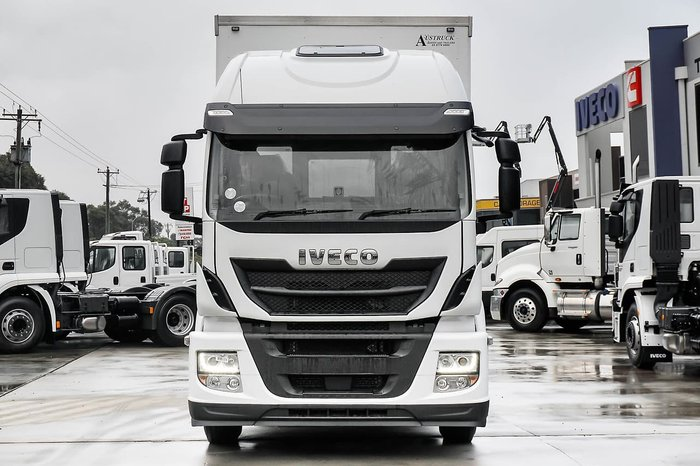 2019 IVECO STALIS ATI 360 HIGH ROOF SLEEPER null null White