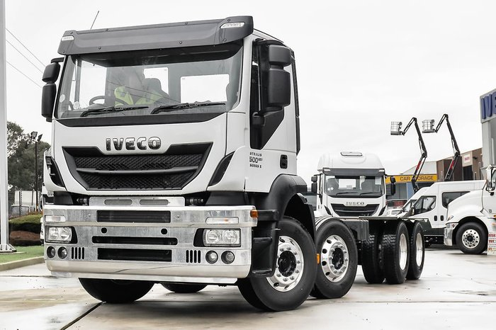 2018 IVECO STRALIS AD500 8X4 null null White