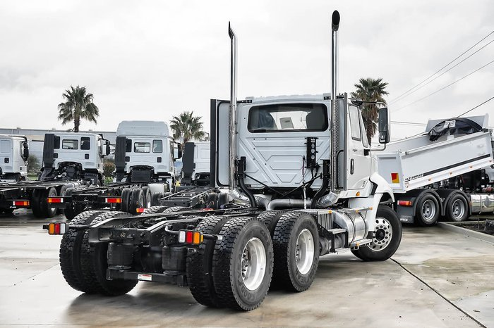 2017 INTERNATIONAL DEMO PROSTAR 6X4 P/MOVER ONE ONLY null null White