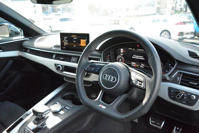 2018 Audi A4 S line B9 MY18 Four Wheel Drive Black