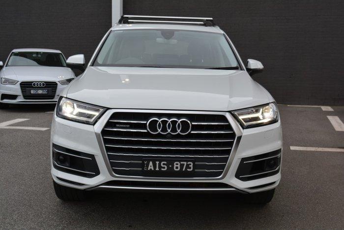 2016 Audi Q7 TDI 4M MY17 Four Wheel Drive White