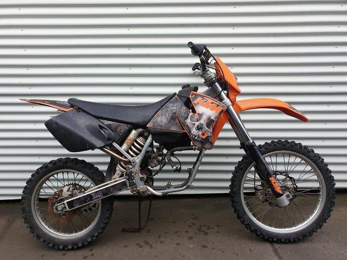 1998 KTM 300 EXC null null Orange