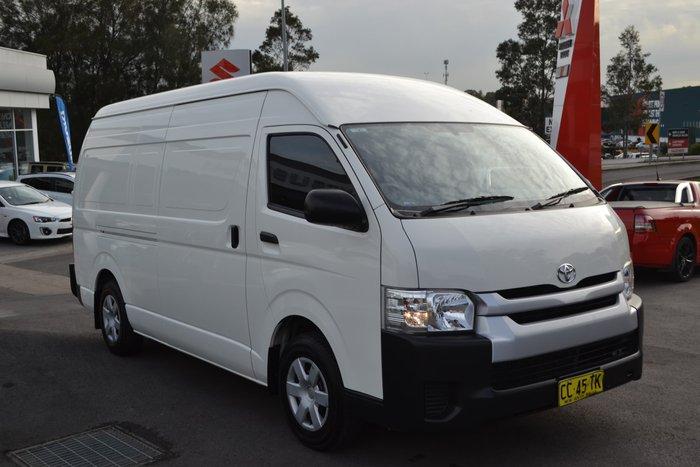 2014 Toyota Hiace KDH221R MY14 White