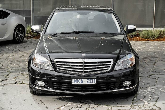 2008 Mercedes-Benz C200 Kompressor Classic W204 Black