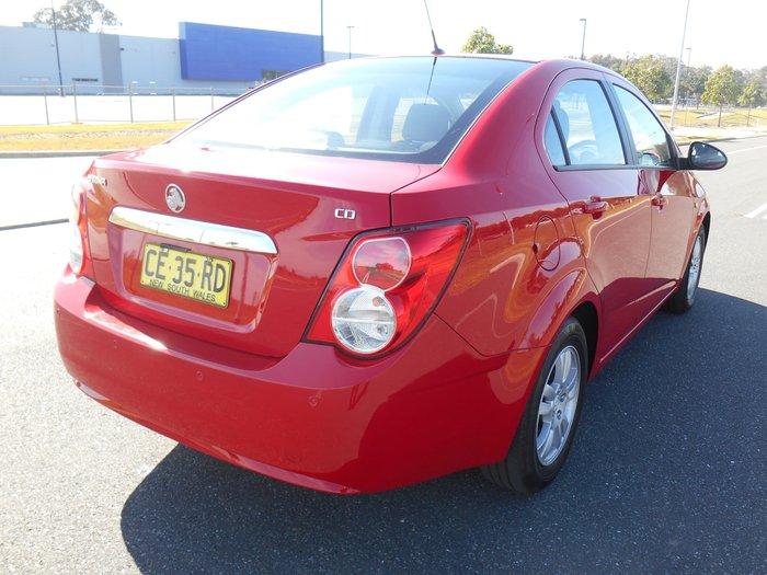 2015 Holden Barina CD TM MY15 Red