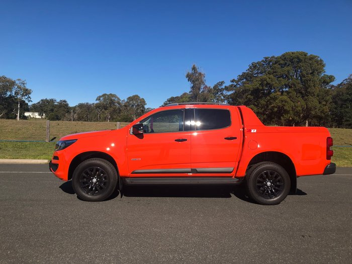 2019 Holden Colorado Z71 RG MY19 4X4 Dual Range Orange