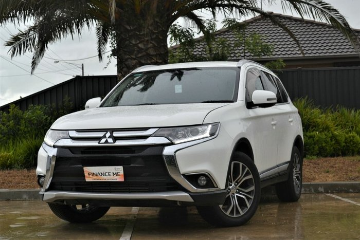 2016 Mitsubishi Outlander LS Safety Pack ZK MY17 4X4 On Demand WICKED WHITE