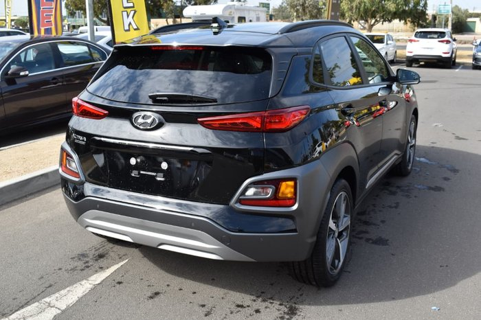 2019 Hyundai Kona Highlander OS.2 MY19 Black