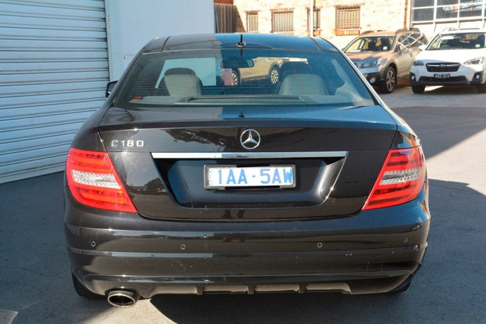 2013 Mercedes-Benz C180 BlueEFFICIENCY C204 MY13 Black