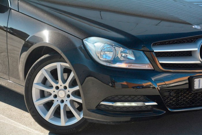 2013 Mercedes-Benz C180 BlueEFFICIENCY C204 MY13 Black