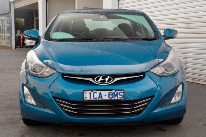 2014 Hyundai Elantra Premium MD3 Blue