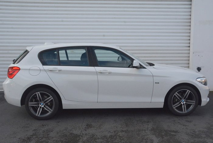 2015 BMW 118i Sport Line F20 LCI White