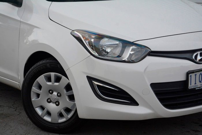 2014 Hyundai i20 Active PB MY14 White