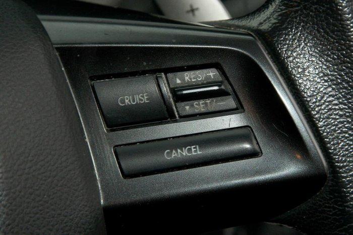 2012 Subaru XV 2.0i-L G4X MY12 Four Wheel Drive Black