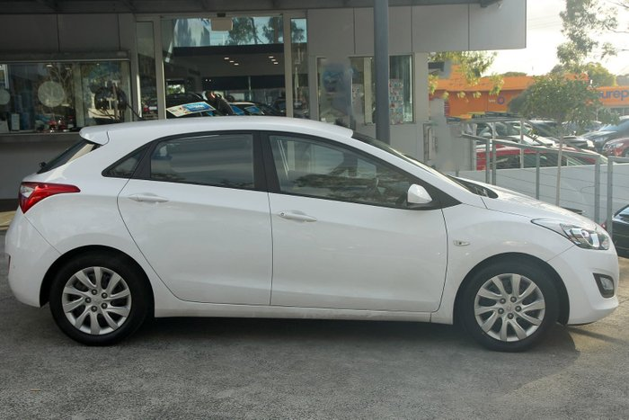 2013 Hyundai i30 Active GD White