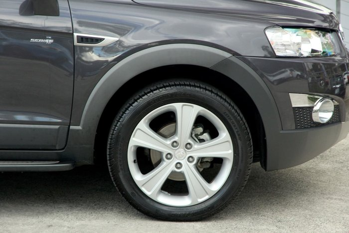 2013 Holden Captiva 7 LX CG MY13 4X4 On Demand Grey