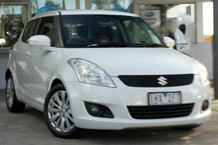 2013 Suzuki Swift GLX FZ White