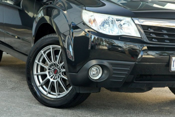 2011 Subaru Forester S-EDITION S3 MY11 Four Wheel Drive Black