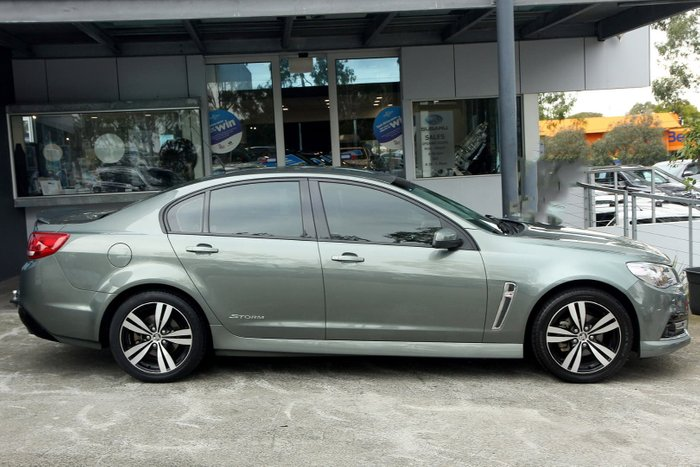 2015 Holden Commodore SV6 Storm VF MY15 Grey