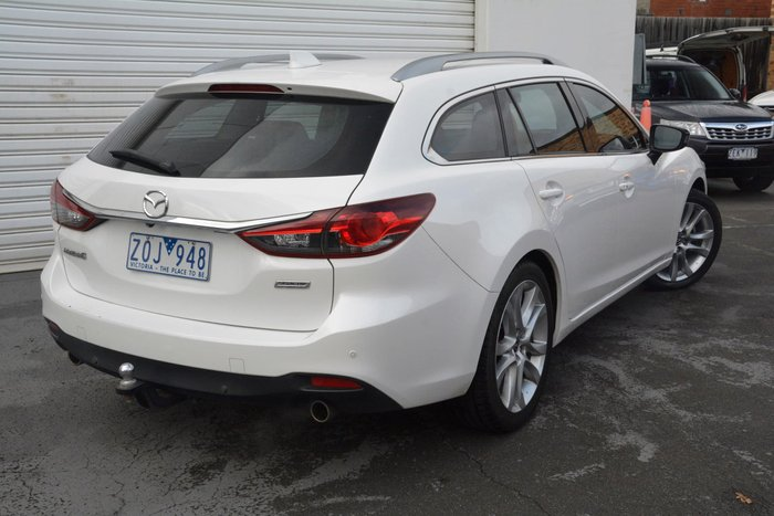 2013 Mazda 6 Touring GJ White