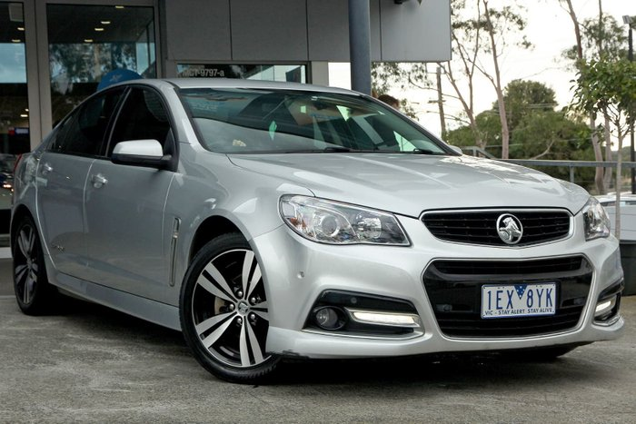 2015 Holden Commodore SV6 Storm VF MY15 Silver