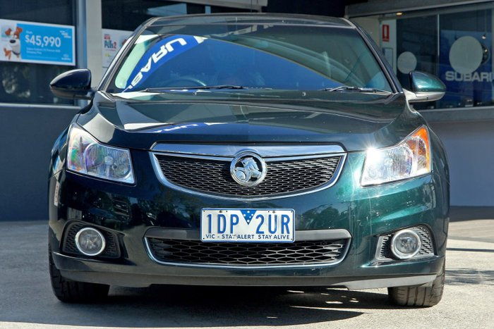 2014 Holden Cruze Z Series JH Series II MY14 Green