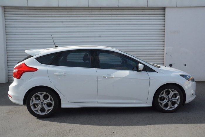 2013 Ford Focus Sport LW MKII White