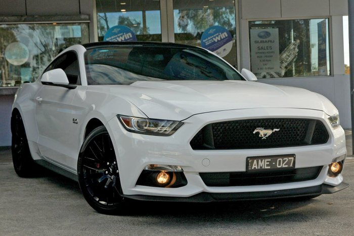 2016 Ford Mustang GT FM MY17 White