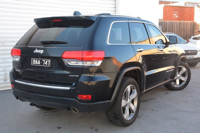 2012 Jeep Grand Cherokee Limited WK MY12 4X4 Constant Black
