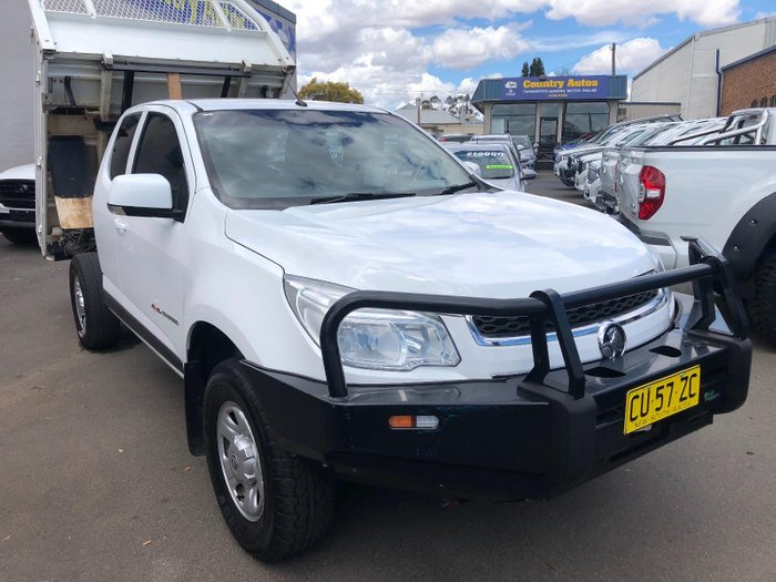 2015 Holden Colorado LS RG MY16 White