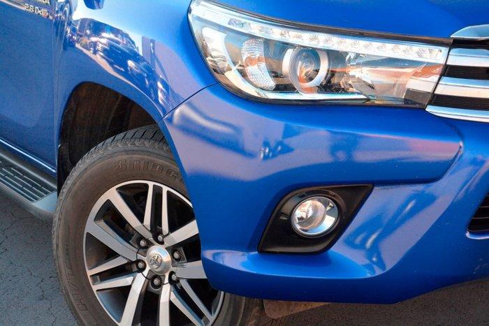 2016 Toyota Hilux SR5 GUN126R 4X4 Dual Range Blue