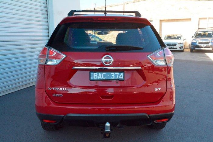 2014 Nissan X-TRAIL ST T32 4X4 On Demand Red