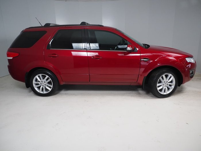 2016 Ford Territory TX SZ MkII Red
