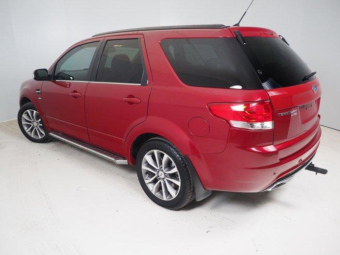 2016 Ford Territory Titanium SZ MkII Four Wheel Drive Red