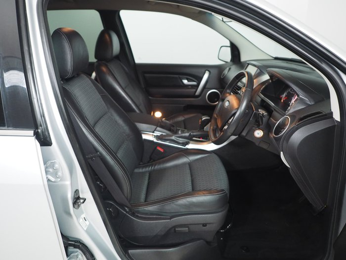 2016 Ford Territory TS SZ MkII Four Wheel Drive Silver
