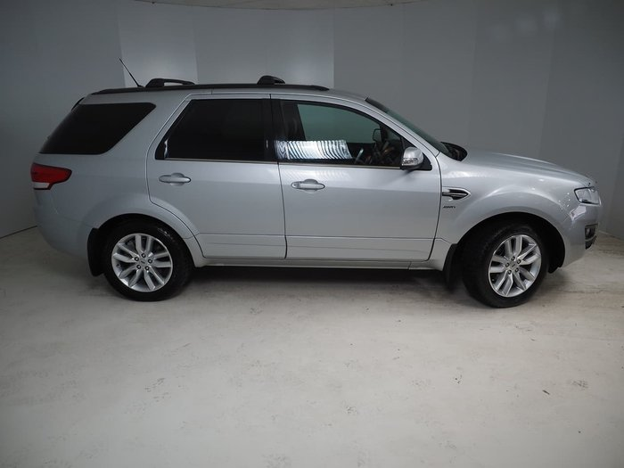 2016 Ford Territory TS SZ MkII Four Wheel Drive Silver