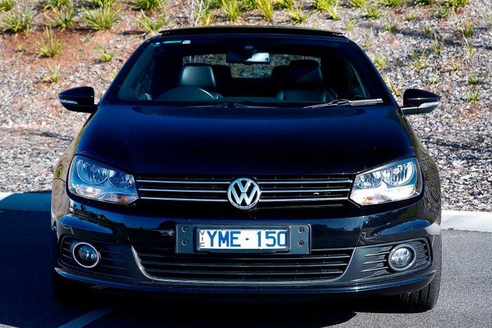 2011 Volkswagen Eos 155TSI 1F MY11 Black