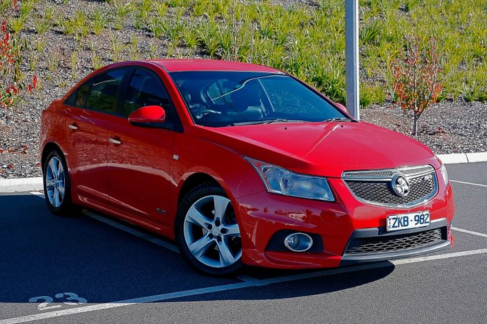 2011 Holden Cruze SRi-V JH Series II MY11 Red