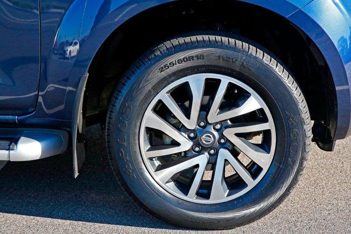 2016 Nissan Navara ST-X D23 4X4 Dual Range Blue