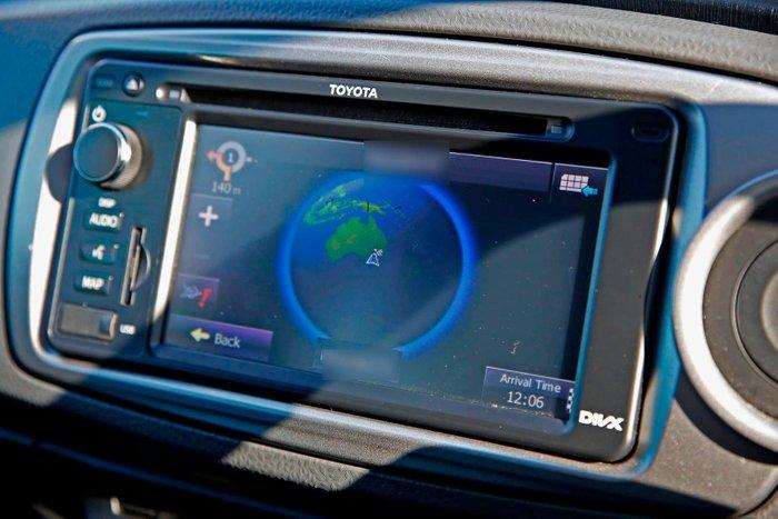 2012 Toyota Yaris ZR NCP131R Black