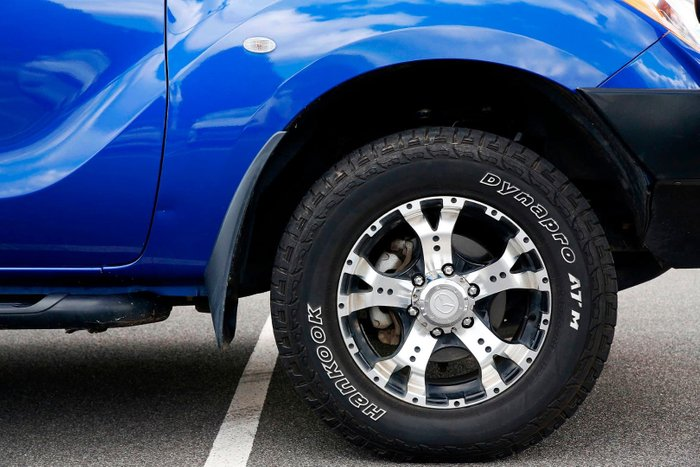 2015 Mazda BT-50 XTR UP 4X4 Dual Range Blue