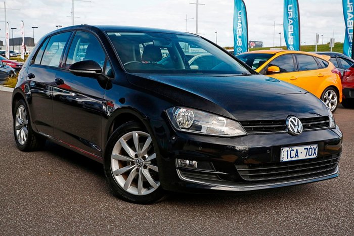 2014 Volkswagen Golf 110TDI Highline 7 MY14 Black