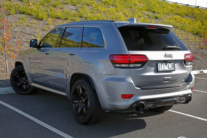 2015 Jeep Grand Cherokee SRT WK MY15 4X4 On Demand Silver