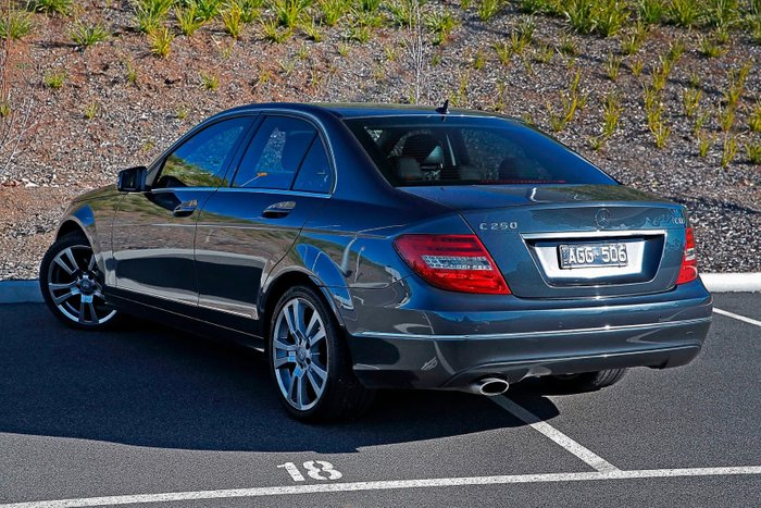 2013 Mercedes-Benz C-Class C250 CDI Avantgarde W204 MY13 Grey