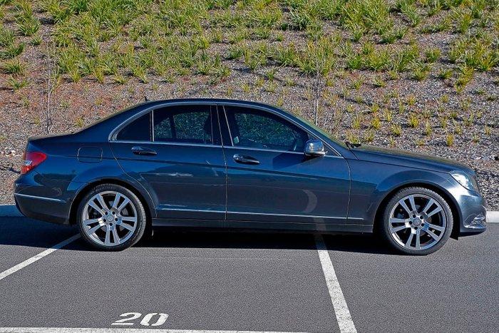 2013 Mercedes-Benz C-Class C250 CDI Avantgarde W204 MY13 Grey
