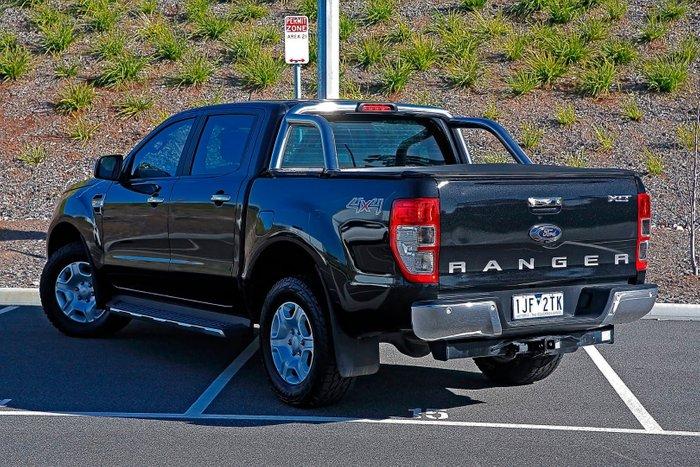 2016 Ford Ranger XLT PX MkII 4X4 Dual Range Black