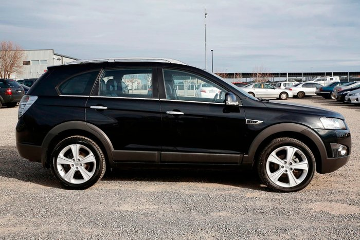 2011 Holden Captiva 7 LX CG Series II 4X4 On Demand Black
